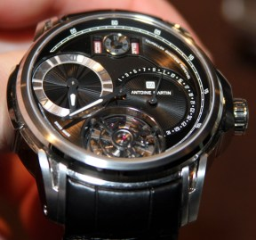 Antoine Martin Tourbillon Quantieme Perpetual Watch Hands-On Hands-On