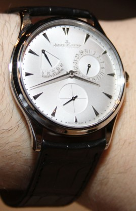 Jaeger-LeCoultre Master Ultra Thin Réserve de Marche Watch Hands-On Hands-On