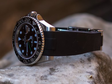 Everest EH-1 Band Silicone Strap For Rolex Watches Review Luxury Items