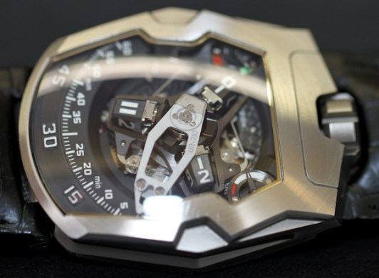 Urwerk UR-210 Watch Hands-On Hands-On