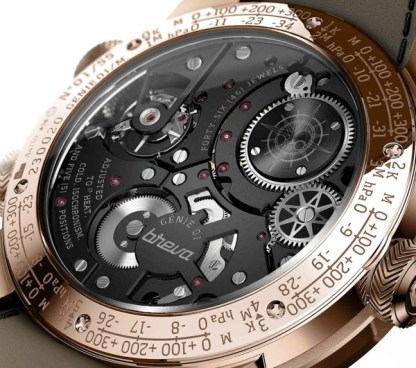 Breva Génie 01 Is First Ever Mechanical Weather Station Watch Watch Releases