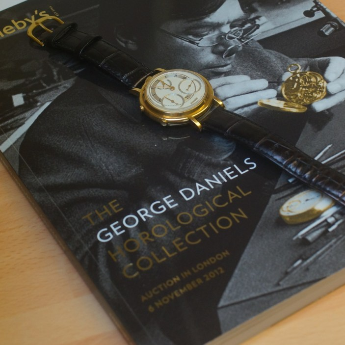 George Daniels Co-Axial Chronograph Watch Hands-On Hands-On Sales & Auctions
