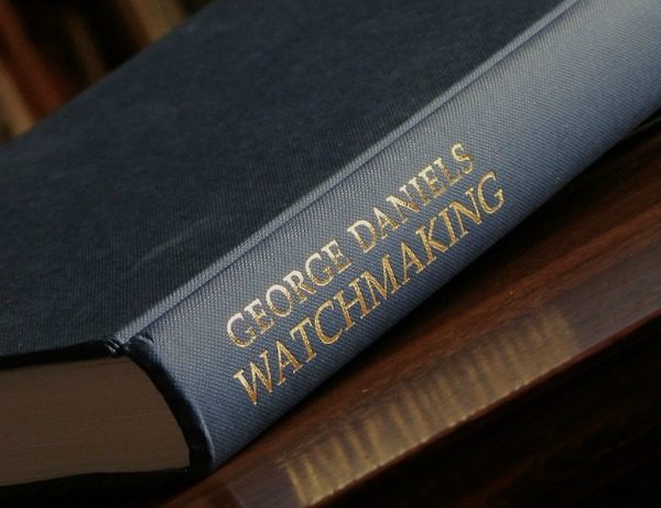 """George Daniels """"Watchmaking"""" Book Is A Must Read For Budding Horologists"""