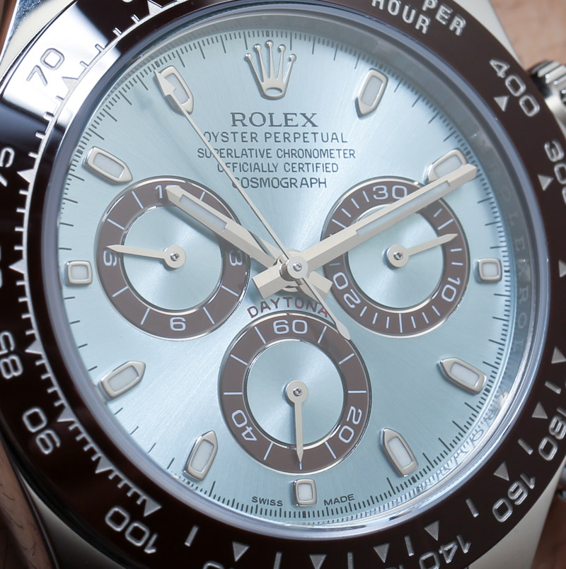Rolex Cosmograph Daytona 116506 In Platinum Hands On An Homage To