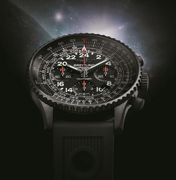 Breitling Navitimer Cosmonaute Blacksteel Limited Edition Watch