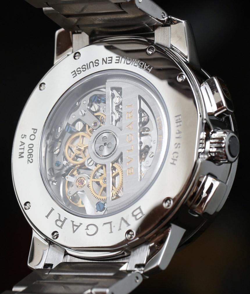 Bulgari Bulgari Chronograph Watch Review Wrist Time Reviews
