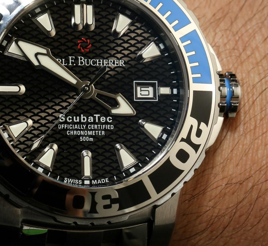 Carl F. Bucherer Patravi ScubaTec Dive Watch Hands-On