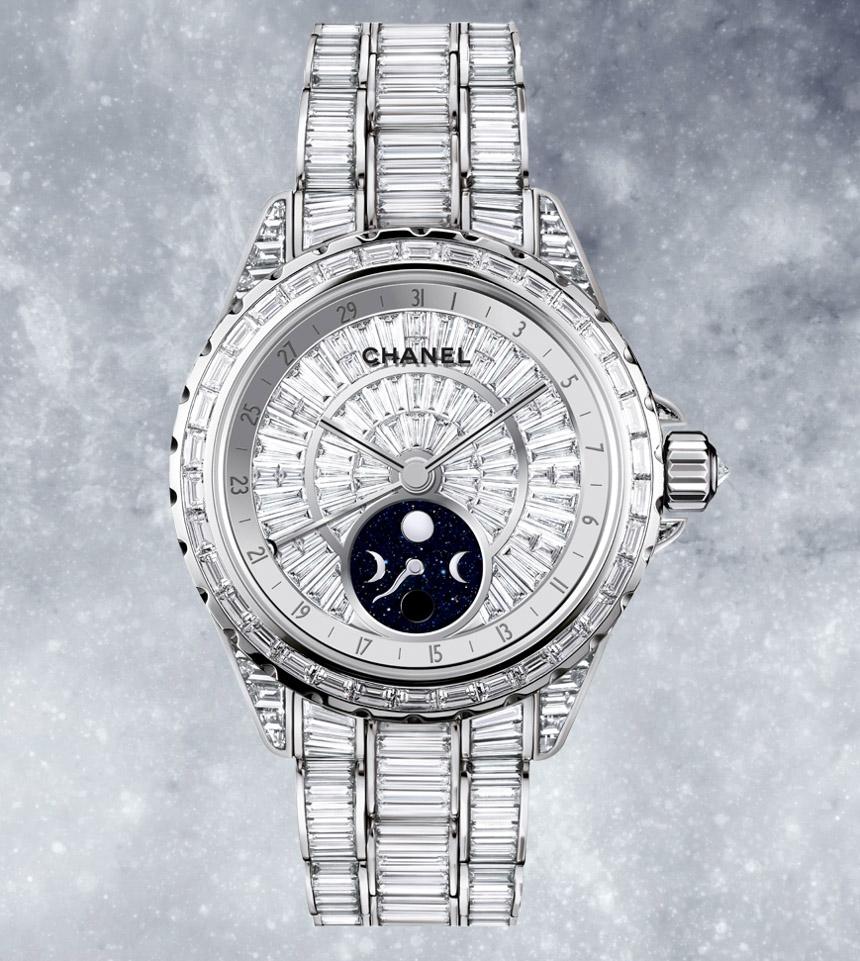 ec1ce549078a Chanel Announces J12 Moonphase 38MM Watch