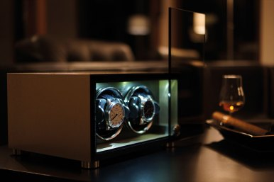 Stockinger Luxury Watch Winder Cabinets & BRABUS SV12 Safe Luxury Items