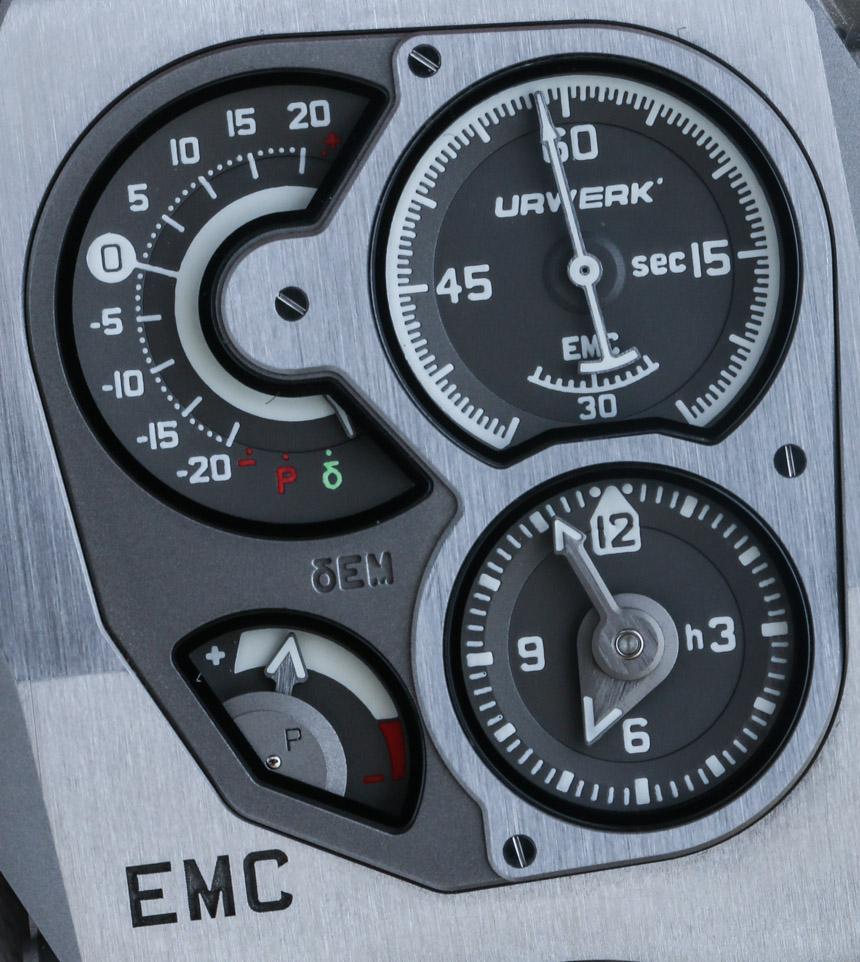 URWERK EMC Watch Hands-On
