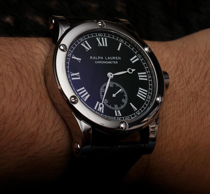 39a7c970ba7c Ralph Lauren Sporting Classic Chronometer Steel Watch Hands On Hands-On