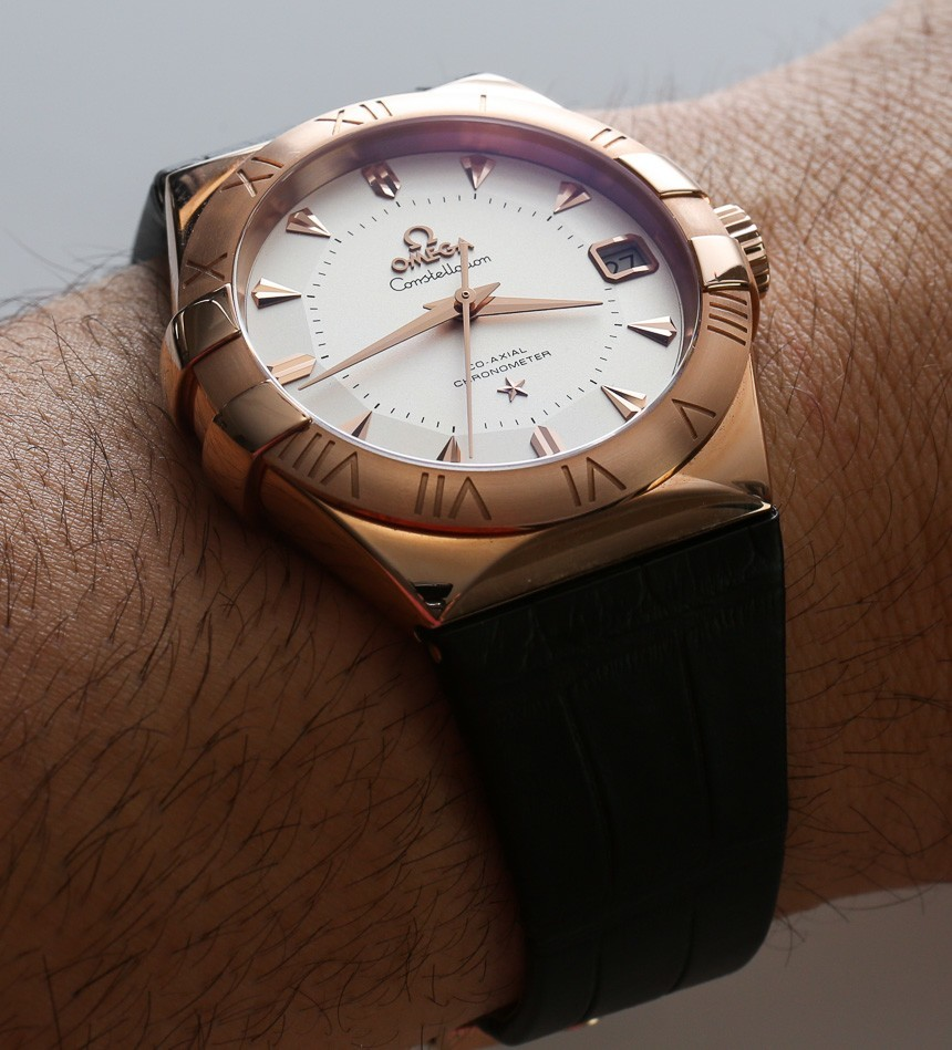 Omega Constellation Co Axial 38mm Watch Review Ablogtowatch