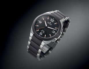 Junghans Force Mega Solar Watch With Wireless Charge And Sync Watch Releases