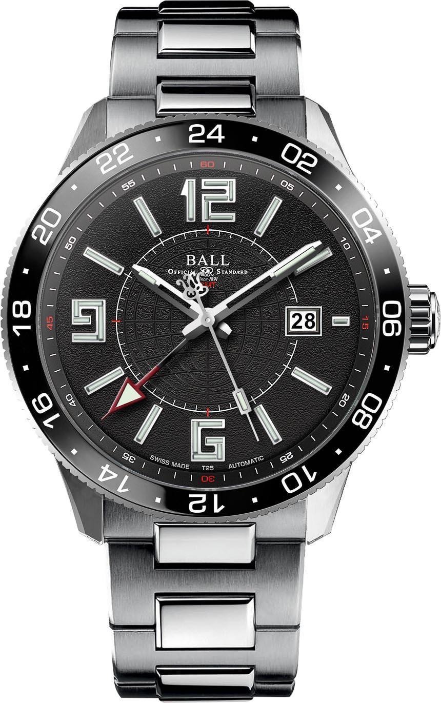 Ball Engineer Master II Pilot GMT Watch  aBlogtoWatch
