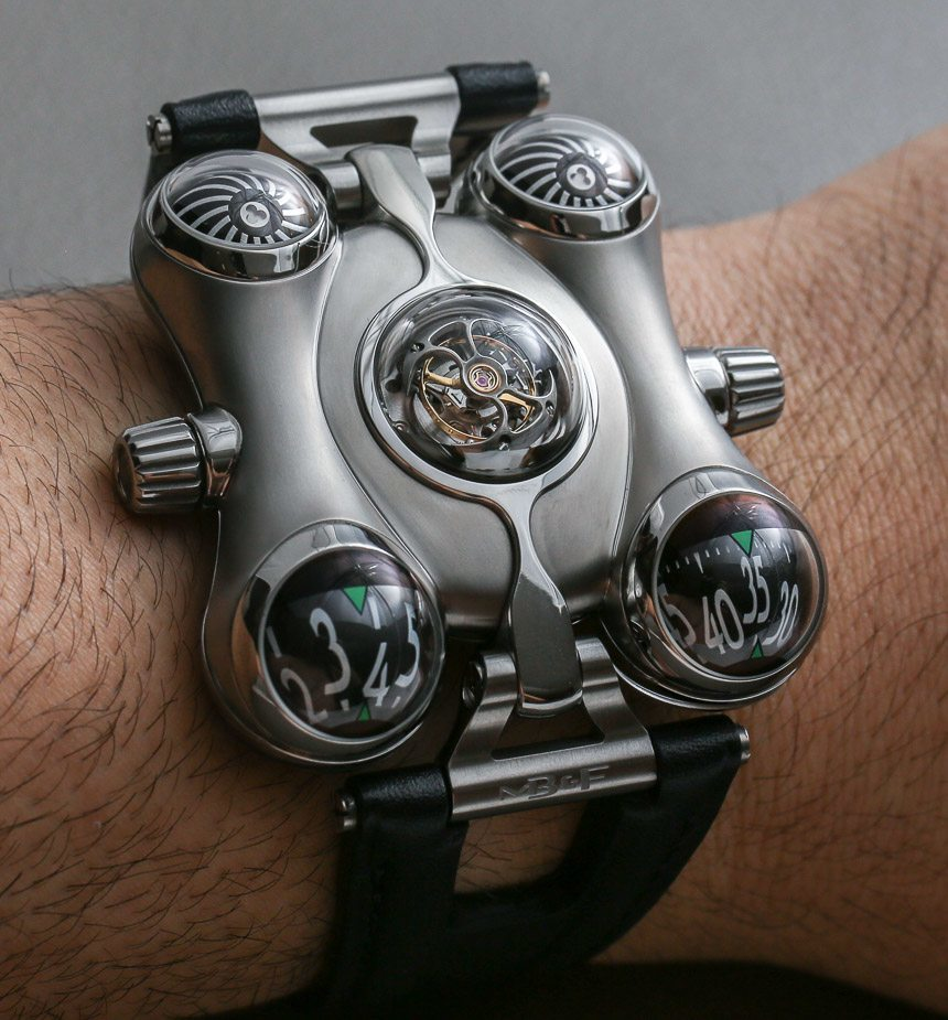 MB&F HM6 Space Pirate Watch Hands-On Debut