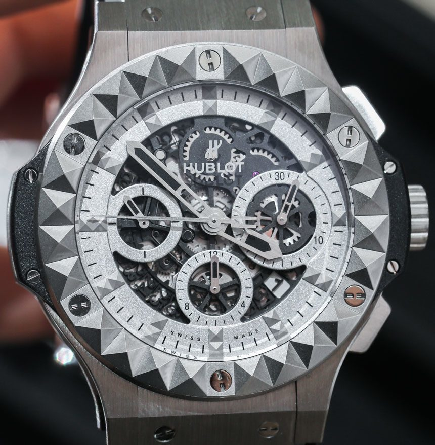 hublot big bang depeche mode steel watch hands