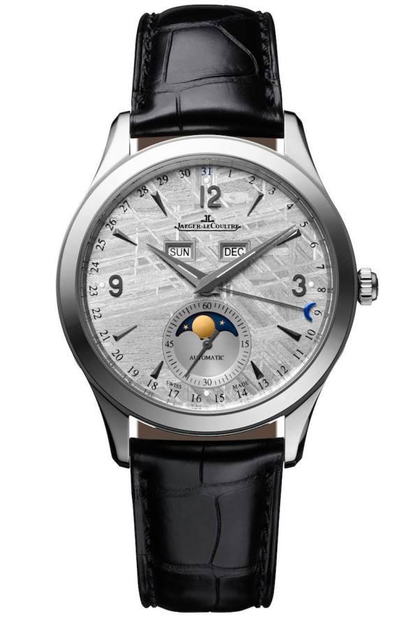 Jaeger-lecoultre Master Calendar Meteorite Dial Watch