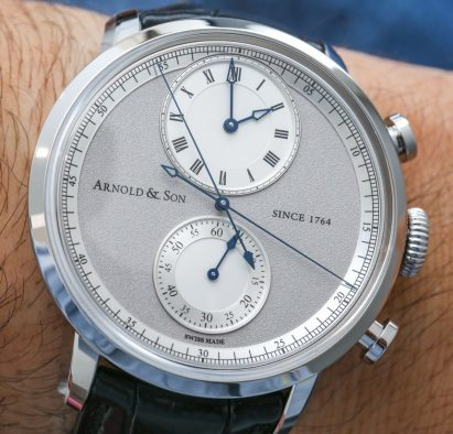 Arnold & Son CTB Chronograph 'Central True Beat' Watch Hands-On Hands-On