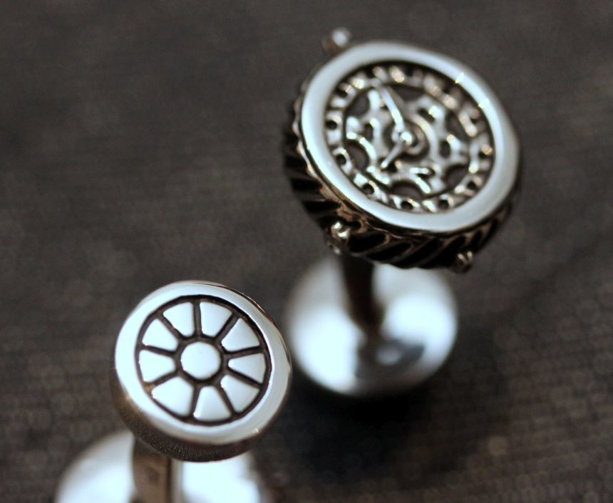 Baz Persaud Horological Cuff Links Review Luxury Items
