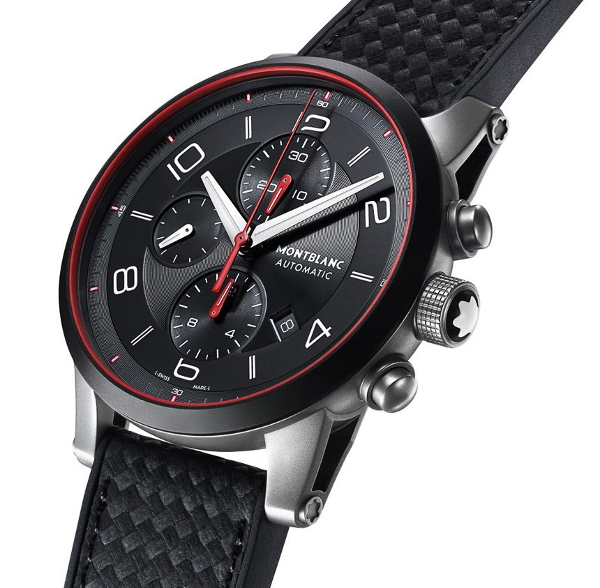 Montblanc e-Strap Combines Smart Wearable Device With Mechanical Watch In New Timewalker Urban Speed Collection Watch Releases