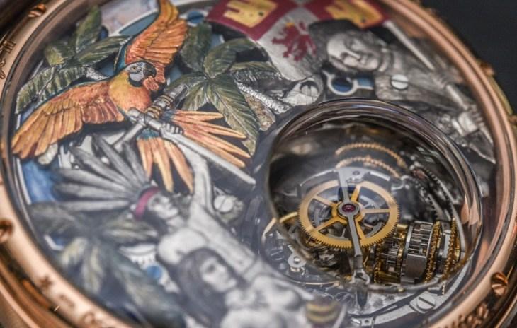 Zenith Academy Christophe Colomb Hurricane Grand Voyage II Watch Hands-On Hands-On