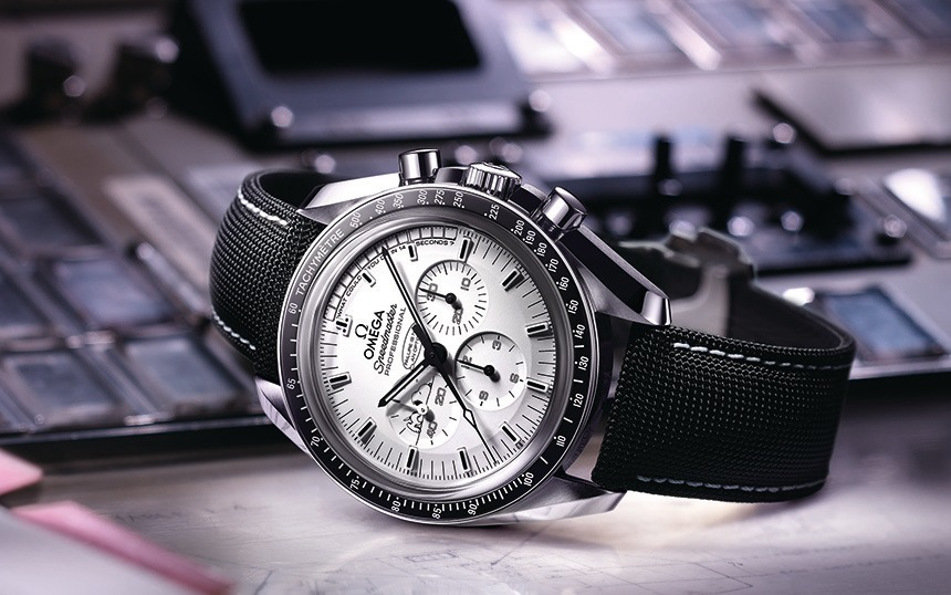 Omega Speedmaster Apollo 13 Silver Snoopy Award Limited Edition Watch Watch Releases