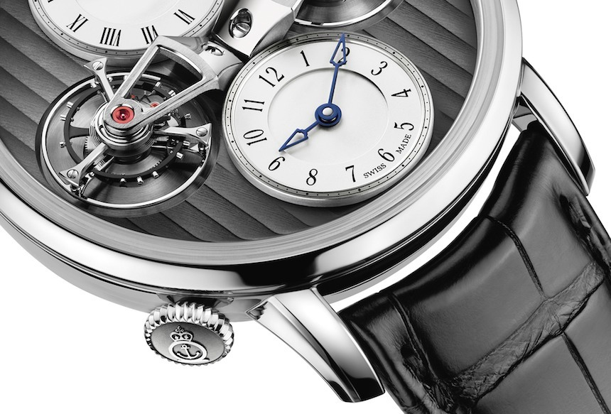 Arnold & Son DTE Double Tourbillon Escapement Dual Time Watch For 2015 Watch Releases