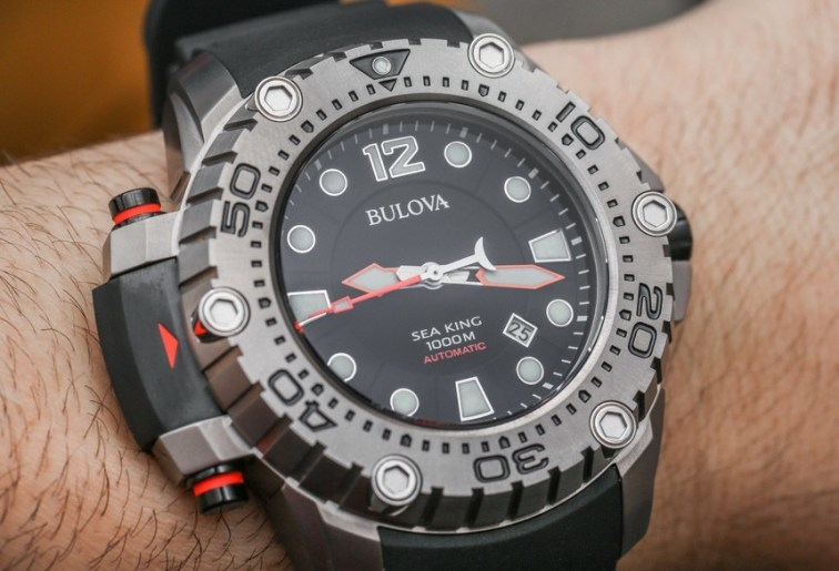 Bulova Sea King Automatic 96B226 Limited Edition Watch Hands-On Hands-On