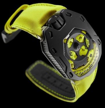 Urwerk UR-105 TA 'Turbine Automatic' Watches In Fancy Colors Watch Releases