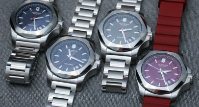 New Victorinox Swiss Army INOX Watches For 2015 With Red, Remade, Naimakka Models Hands-On