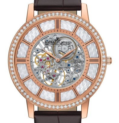 Jaeger-LeCoultre Master Ultra Thin Squelette Is Thinnest Mechanical Watch By 0.05 Millimeters Watch Releases