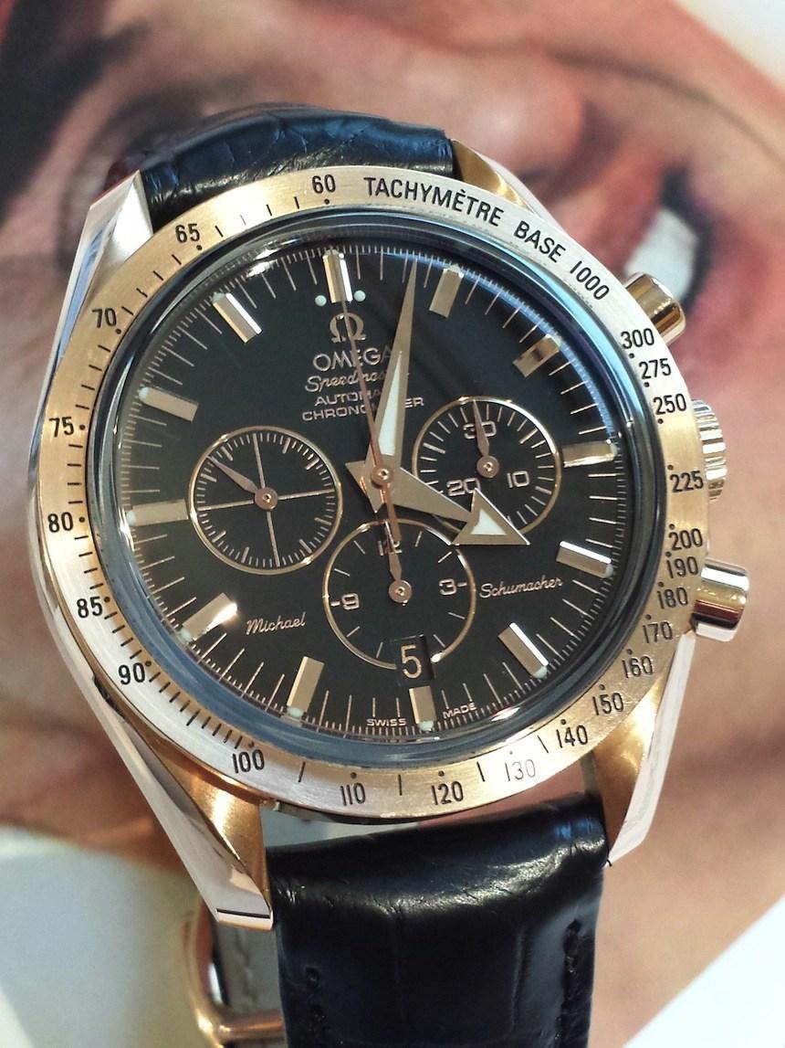 Michael Schumacher Omega Speedmaster Vintage Watches