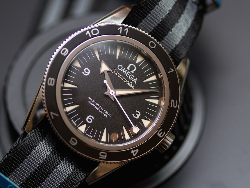 Omega Seamaster 300 Spectre Limited Edition James Bond ...