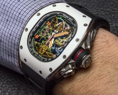 Richard Mille RM 50-02 ACJ Tourbillon Split Seconds Chronograph Watch For Airbus Corporate Jets Hands-On Hands-On