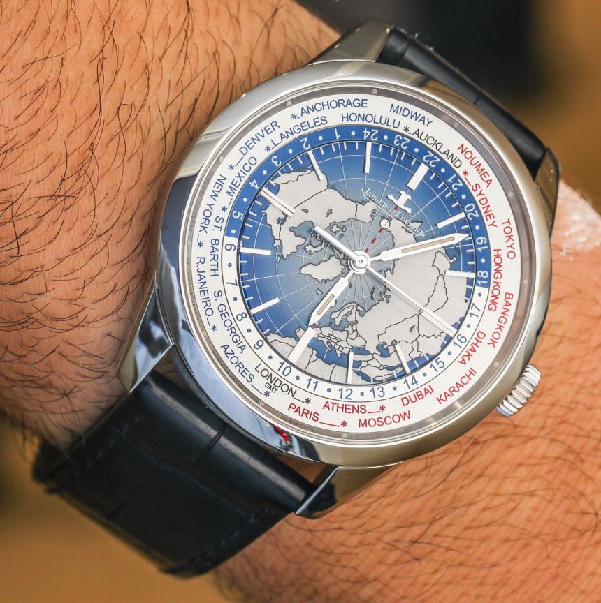 Jaeger-LeCoultre Geophysic Universal Time Watch Hands-On ...