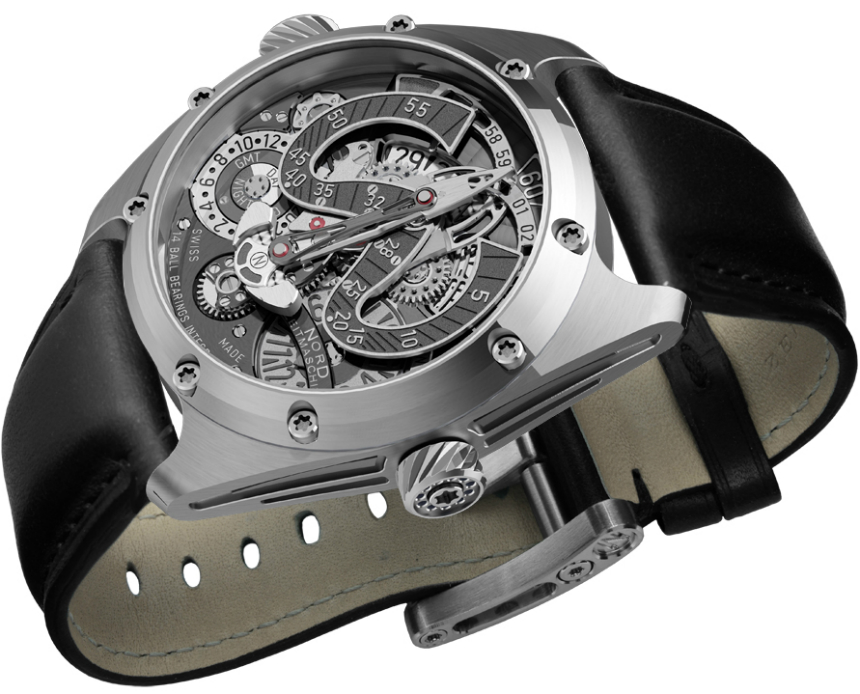 NORD Zeitmaschine Freesdial Watch