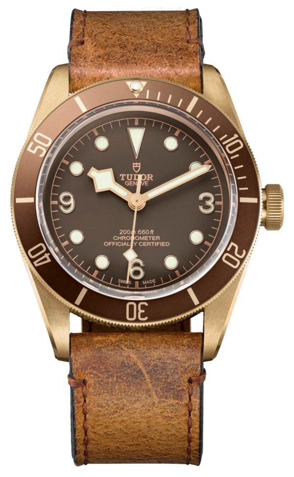 Tudor Heritage Black Bay Bronze 79250BM Watch With In ...