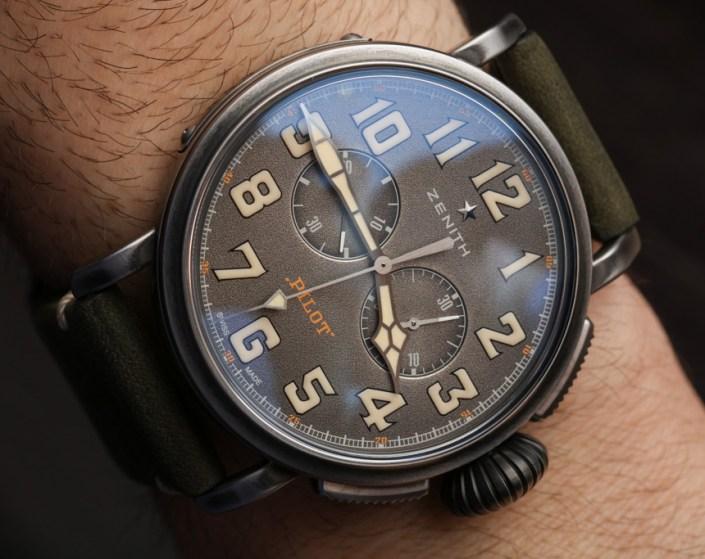 Zenith Heritage Pilot Ton-Up Watch Hands-On Hands-On