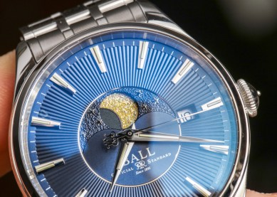 Ball Trainmaster Moon Phase Watch Review Wrist Time Reviews