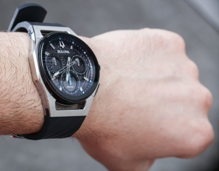7316274d5 Bulova CURV Watches With Curved Chronograph Movements Hands-On Hands-On