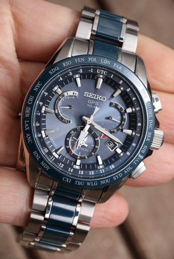 Seiko Astron Gps Solar Dual Time Watch