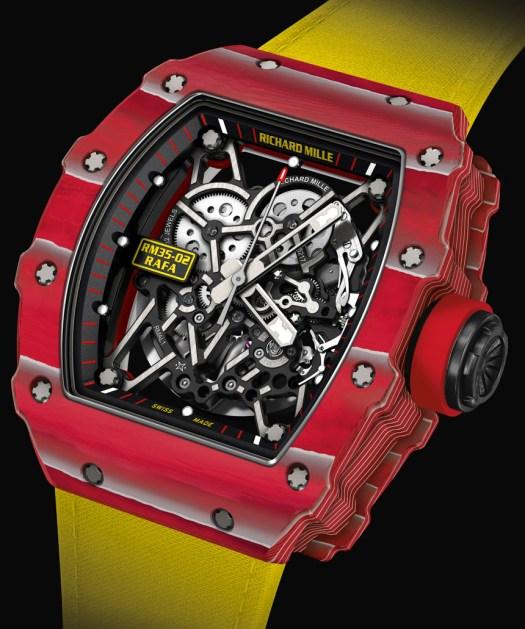 Richard Mille RM 35-02 Rafael Nadal Quartz-TPT Watch ...