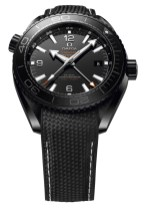 Omega Seamaster Planet Ocean GMT Deep Black Watches In Ceramic Watch Releases