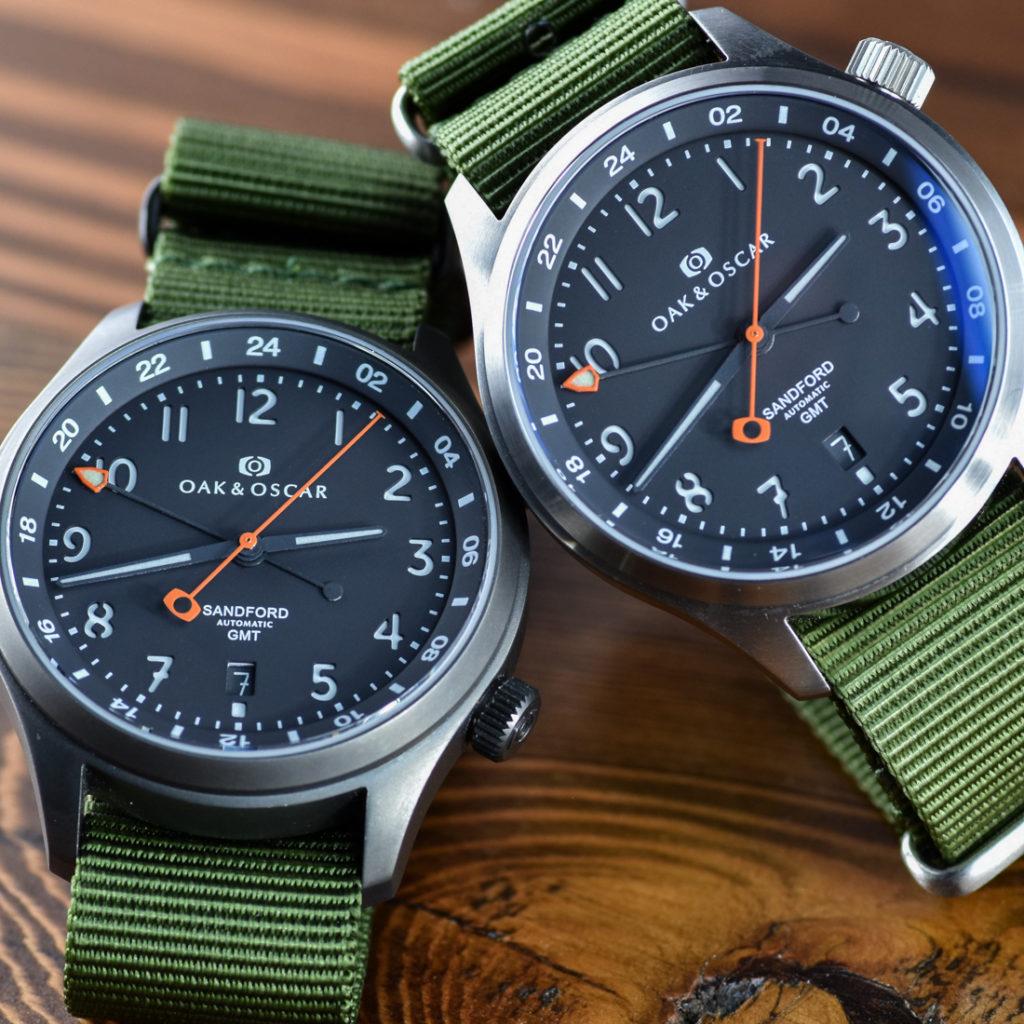 Oak & Oscar Sandford GMT Watch Announced Watch Releases