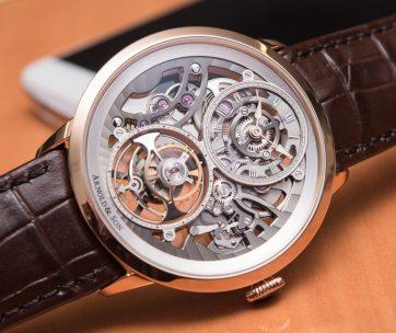 Arnold & Son UTTE Skeleton Watch Hands-On Hands-On
