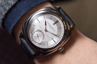 Laurent Ferrier Galet Classic Square Sector Dial Tourbillon Double Spiral Watch Hands-On Hands-On