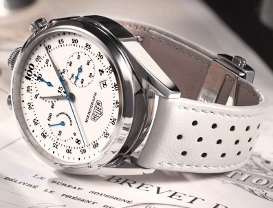 TAG Heuer Mikrograph 100th Anniversary Chronograph Watch For 2016 Stopwatch Watch Releases