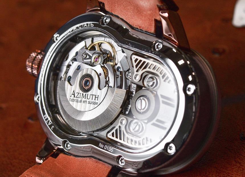 Azimuth SP-1 Crazy Rider 'Bike Chain' Watch Hands-On Hands-On