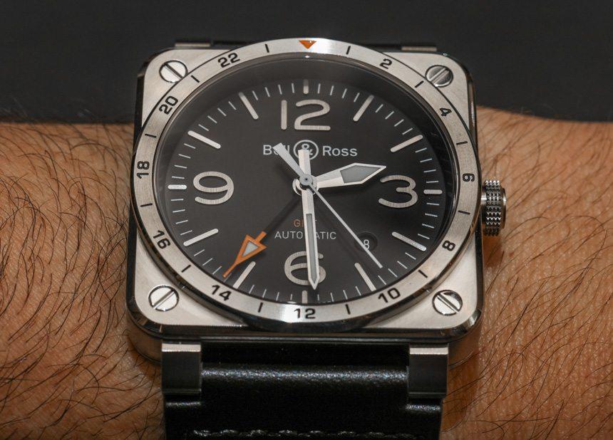 Bell & Ross BR 03-93 GMT Watch Hands-On   aBlogtoWatch