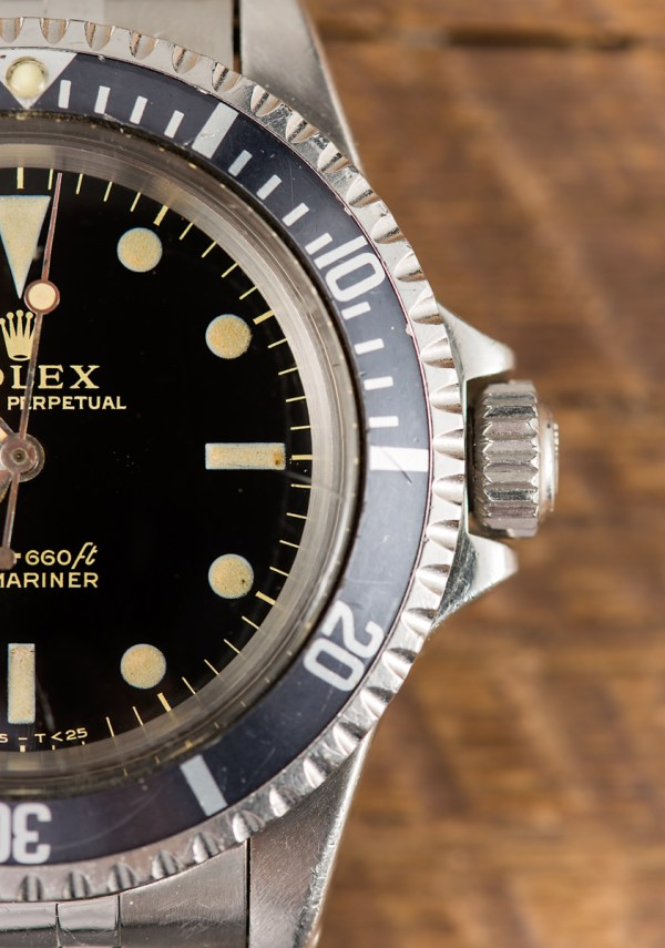 Rolex Submariner Ref. 5513 Gilt Dial Watch Purchased